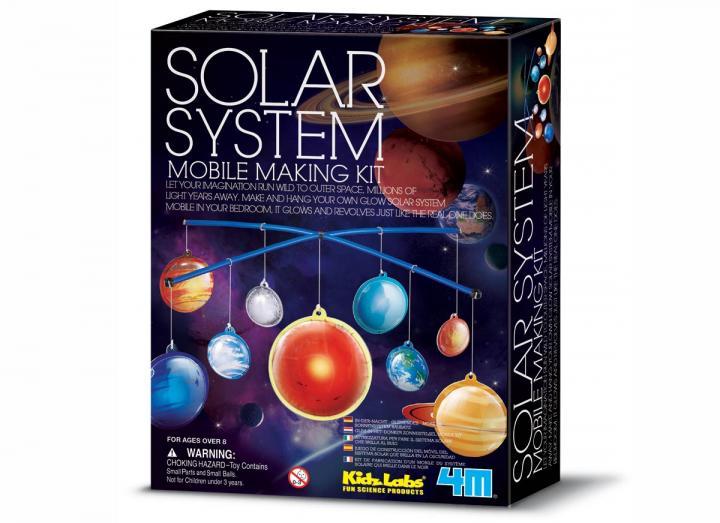 Solar system making kit