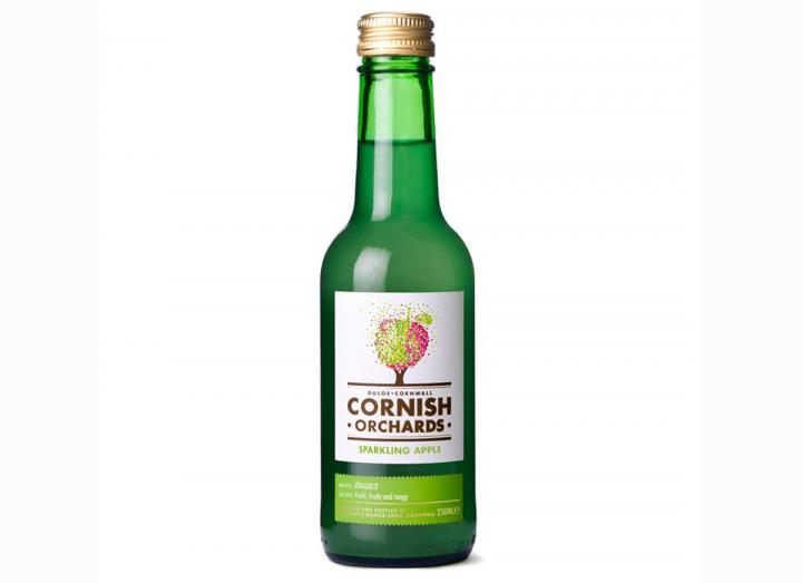 Cornish Orchards sparkling apple juice