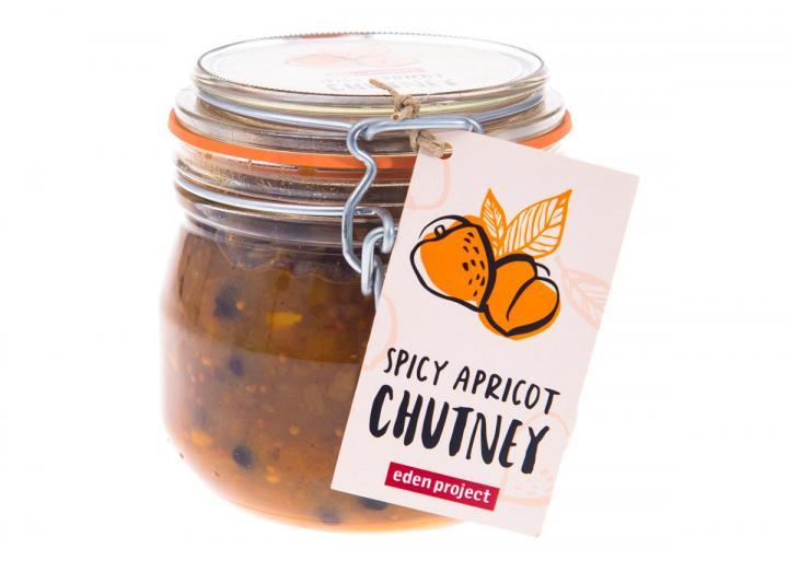 Spicy apricot chutney