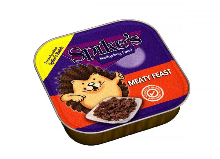 Spike's hedgehog food 100g pouch from Wildlife World