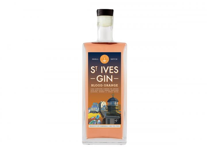 St Ives Gin blood orange 70cl