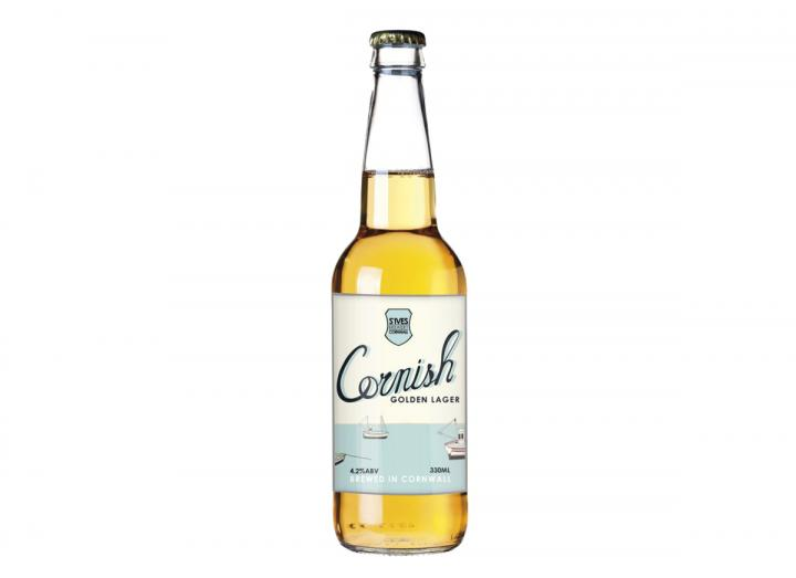 St Ives Brewery Cornish golden lager 330ml