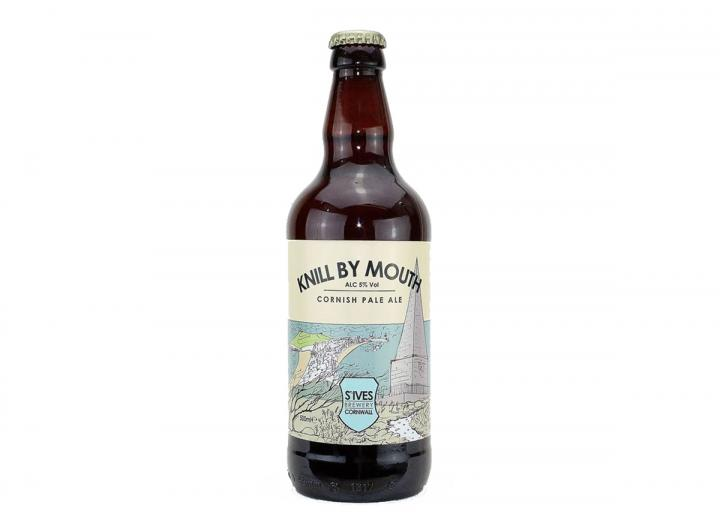 St Ives Brewery knill by mouth Cornish pale ale 500ml