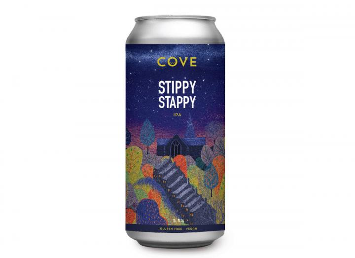 Stippy Stappy IPA from The Driftwood Spars Brewery in Cornwall