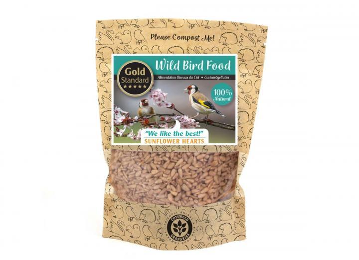 Cotswold Granaries Sunflower Hearts bird food mix from Wildlife World