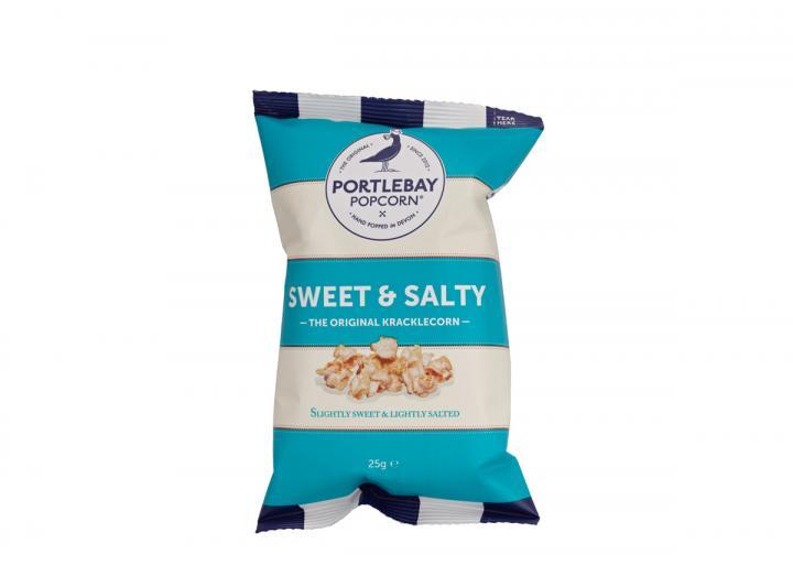 Sweet & salty popcorn from Portlebay Popcorn