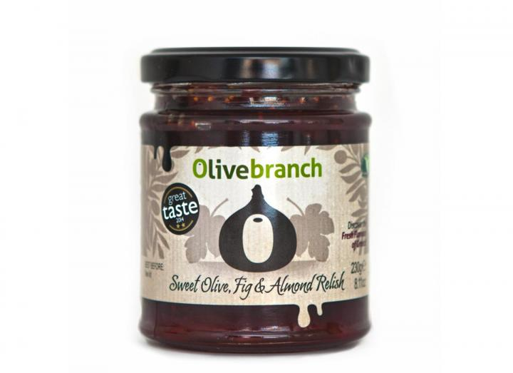 Sweet olive, fig & almond relish from Olive Branch