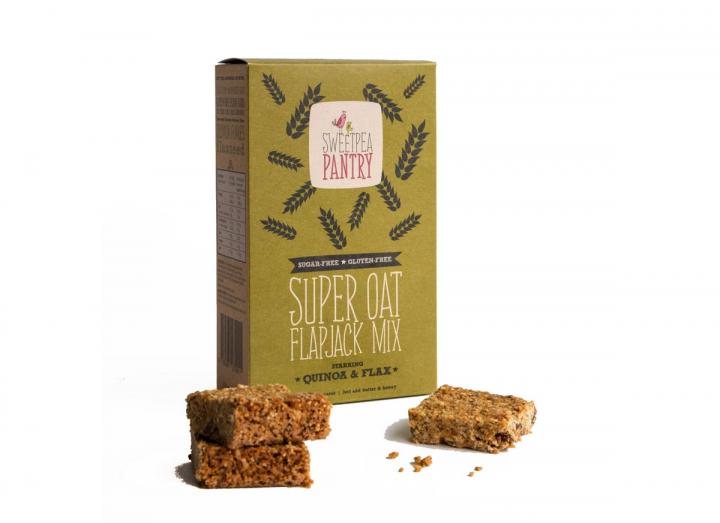 Flapjack mix from the Sweetpea Pantry