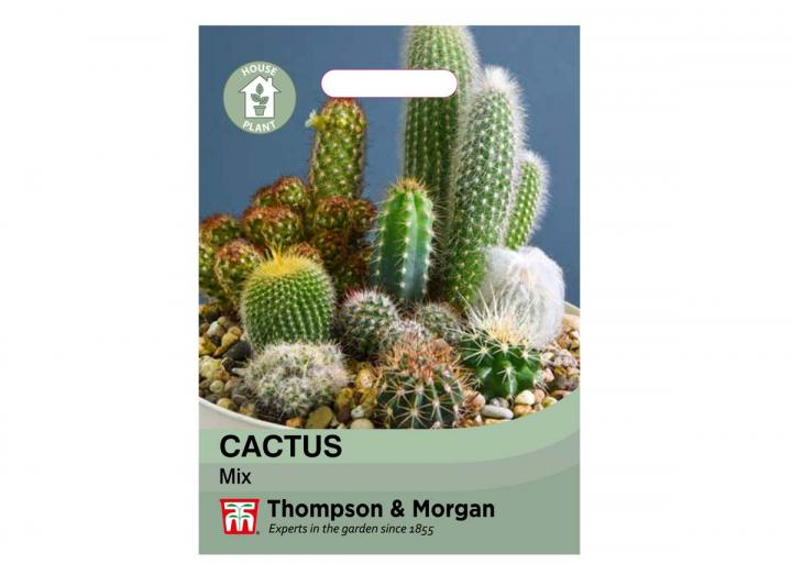 Cactus Mix houseplant seeds from Thompson & Morgan
