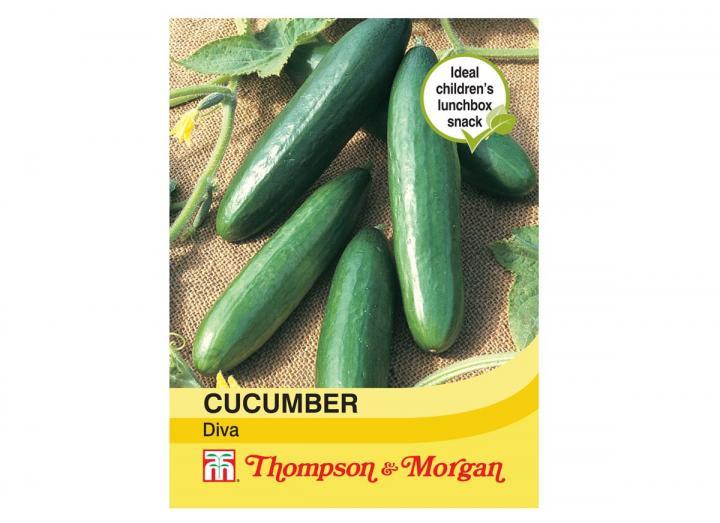 "Cucumber ""Diva"" seeds from Thompson & Morgan"