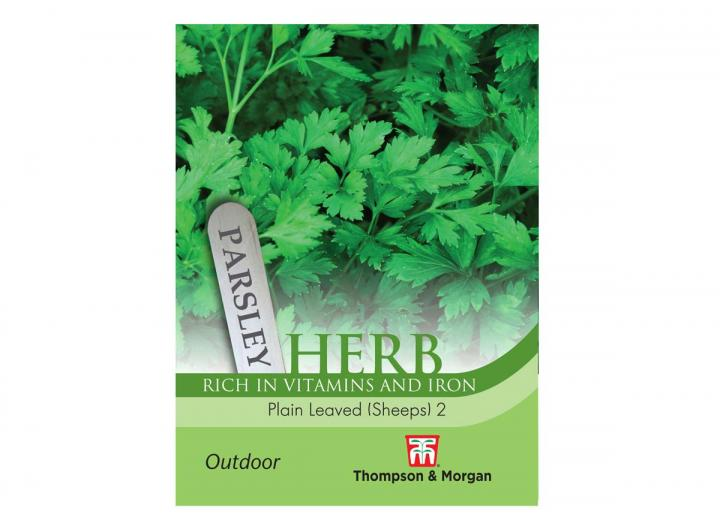 """Parsley """"Plain Leaved 2"""" seeds from Thompson & Morgan"""