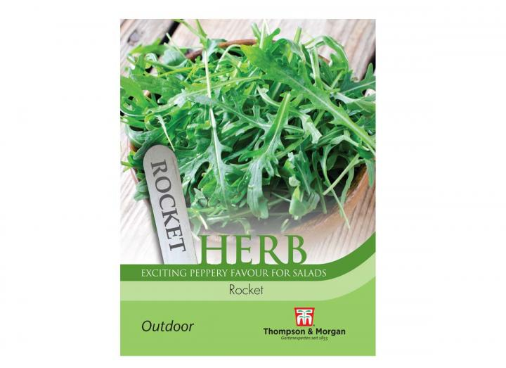 Rocket herb seeds from Thompson & Morgan