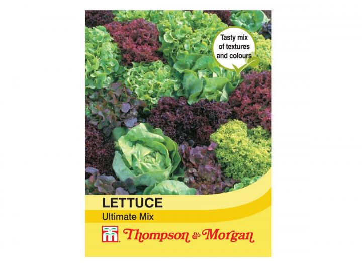 """Lettuce """"Ultimate Mixed"""" seeds from Thompson & Morgan"""