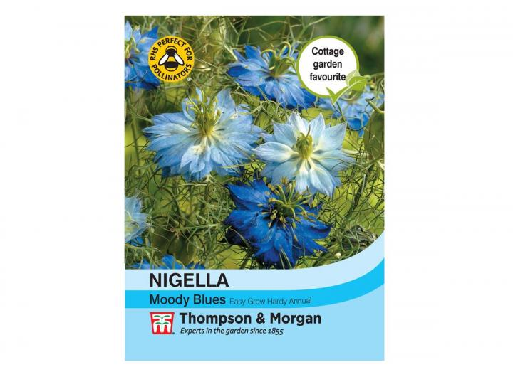 "Nigella ""Moody Blues"" seeds from Thompson & Morgan"