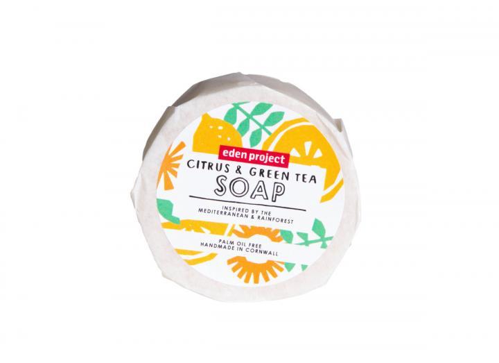 Citrus and green tea soap