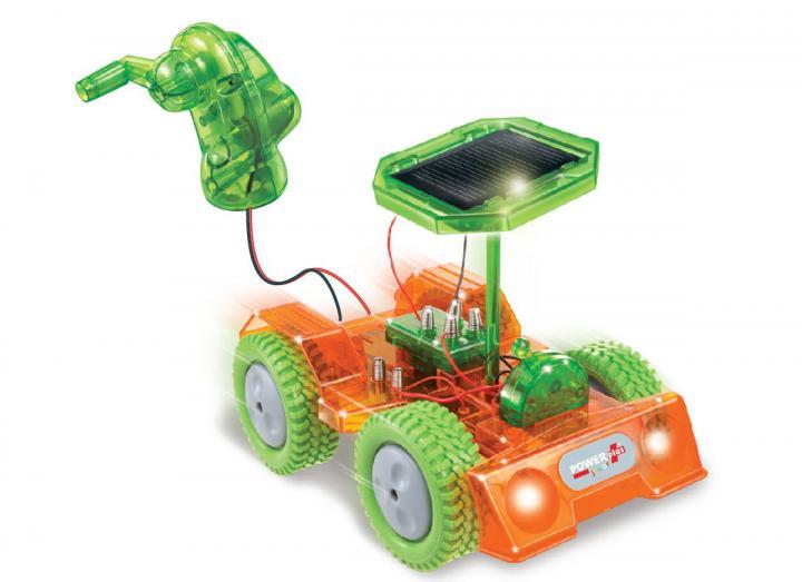 Grasshopper hybrid toy car