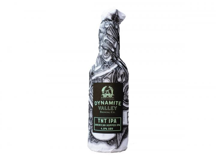 Dynamite Valley Brewery TNT American hopped IPA 500ml bottle