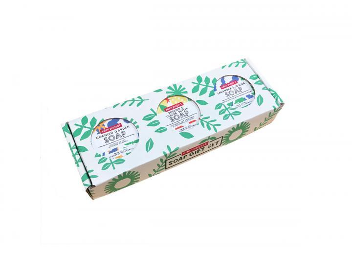 Soap gift set - floral