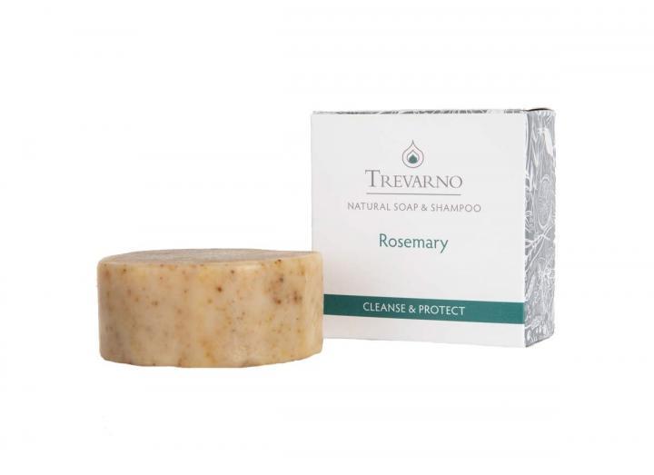Trevarno rosemary shampoo bar