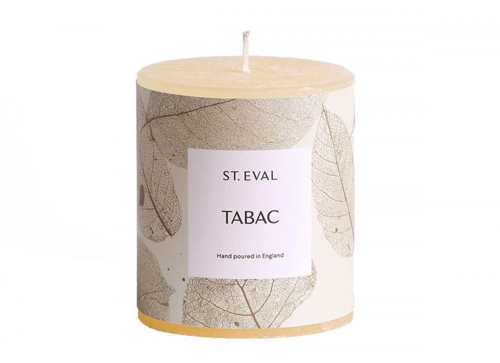 Tabac, Garden of Eden Scented Pillar Candle