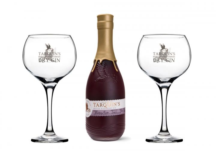 Tarquin's blackberry gin gift set