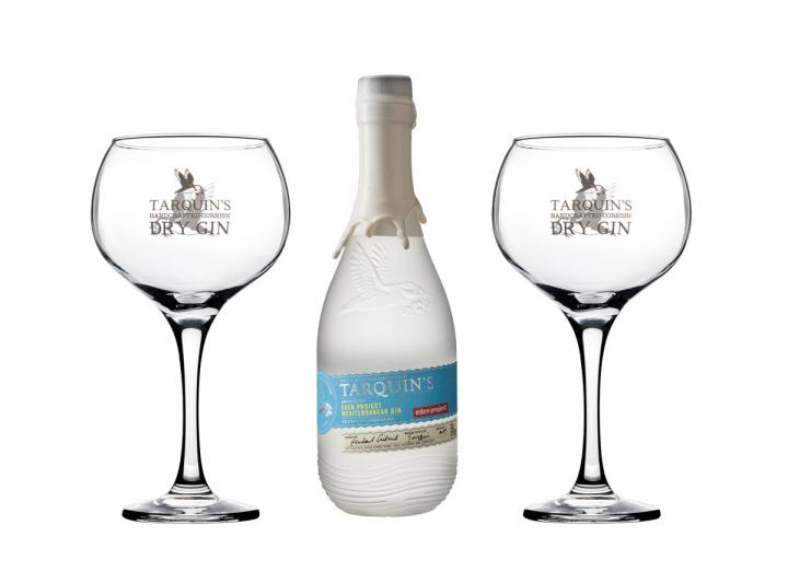 Tarquin's Eden Project Mediterranean gin gift set