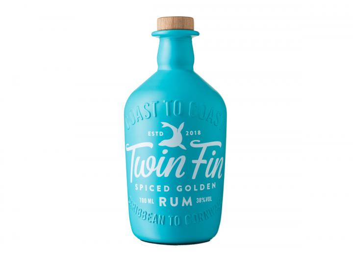 Tarquin's Twin Fin spiced golden rum 70cl