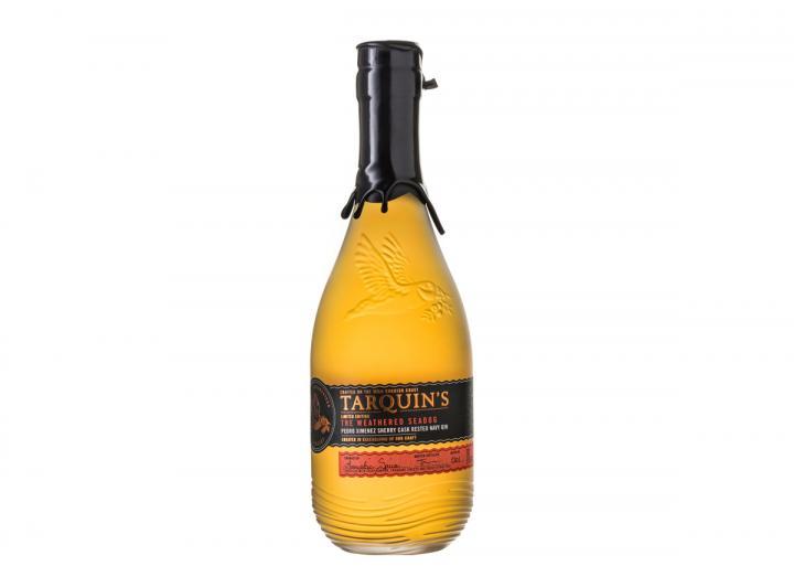 Tarquin's 'Weathered Seadog' navy strength Cornish gin