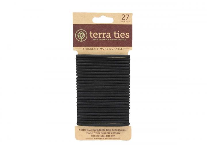 Terra Ties natural rubber hair bands