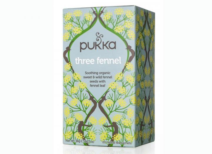 Pukka three fennel tea