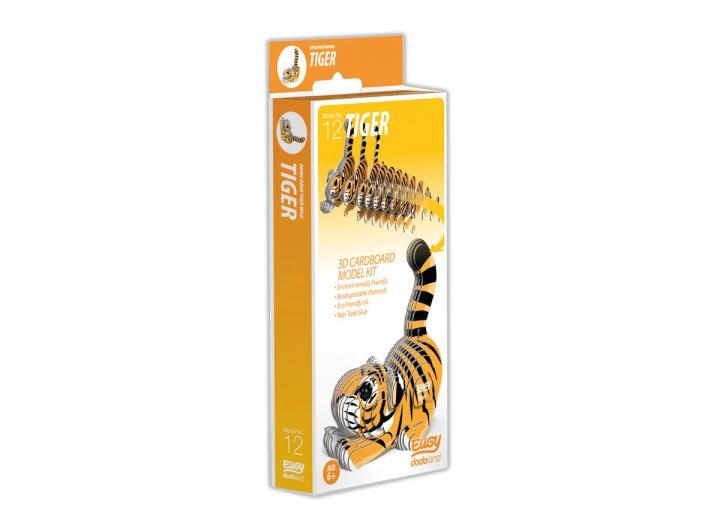 Eugy Tiger 3D model kit