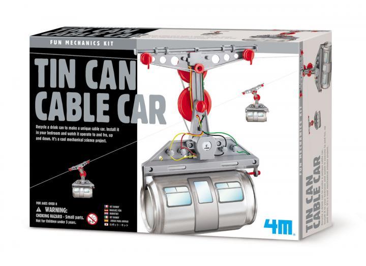 Tin can cable car