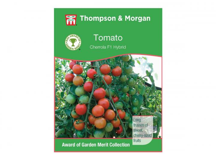 Tomato 'Cherrola F1 Hybrid' seeds from Thompson & Morgan