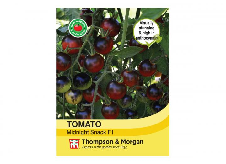 Tomato 'Midnight Snack F1' seeds from Thompson & Morgan