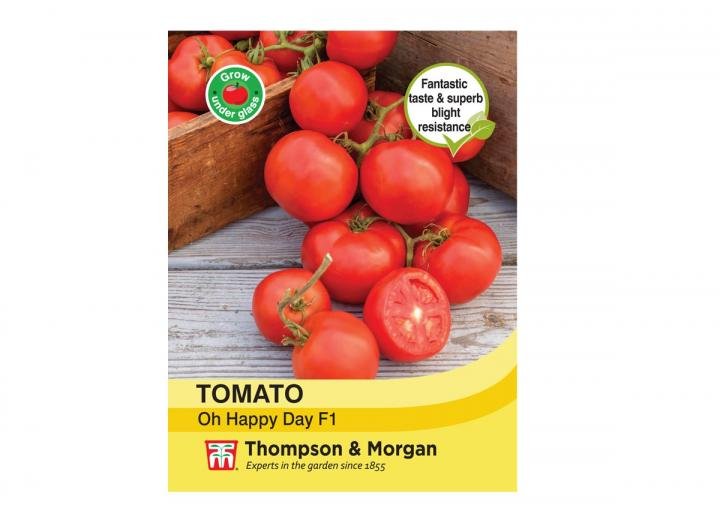 Tomato 'Oh Happy Day F1 Hybrid' seeds from Thompson & Morgan