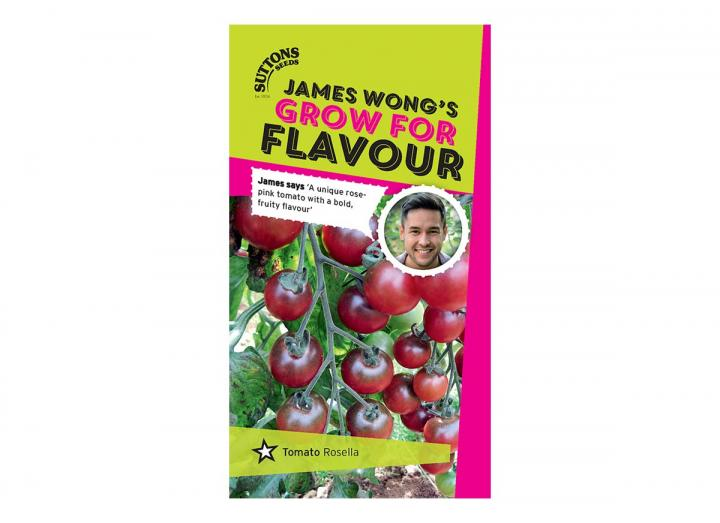 Tomato 'rosella' seeds, part of the grow for flavour range from James Wong