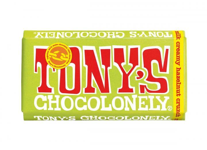Tony's Chocoloney Milk Creamy Hazelnut Crunch 180g
