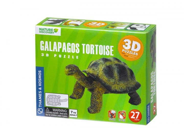 3D tortoise puzzle