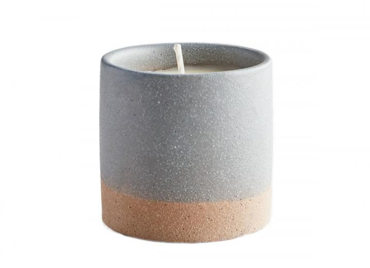 Tranquility scented sand pot candle from St Eval Candles