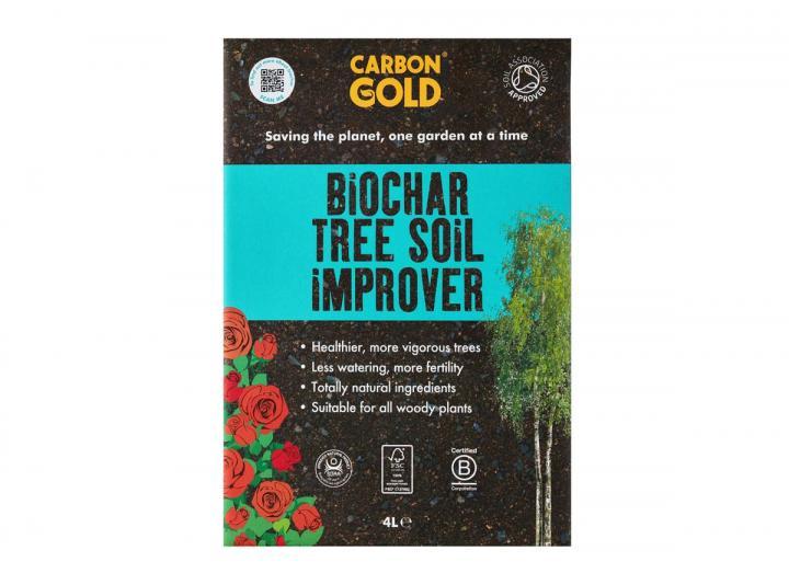 Carbon Gold biochar tree soil improver 4L