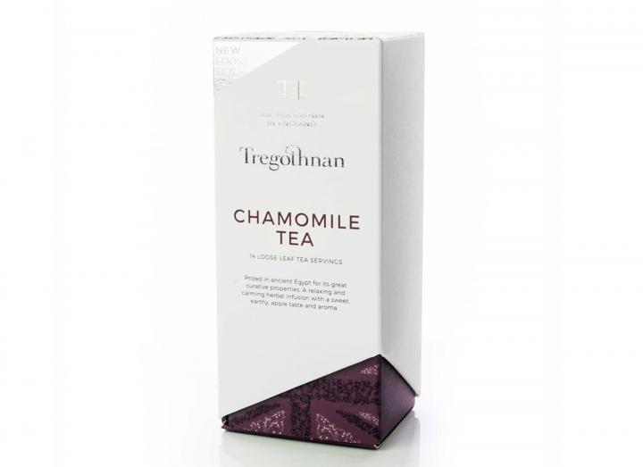 Tregothnan chamomile tea loose leaf caddy