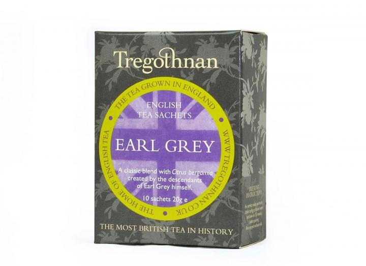 Tregothnan earl grey tea 10 sachets