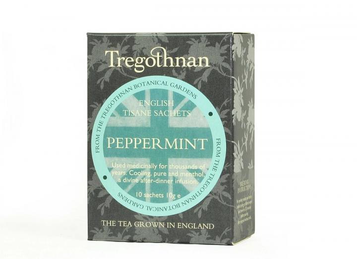 Tregothnan peppermint tea 10 sachets