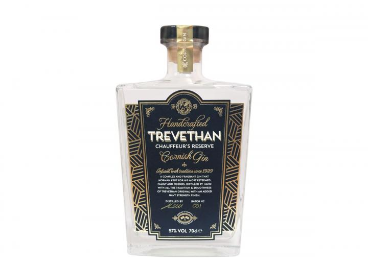 Trevethan chauffeur's reserve gin 70cl
