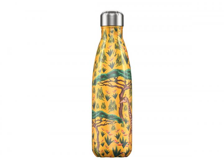 Chilly's Bottle 500ml tropical giraffe edition