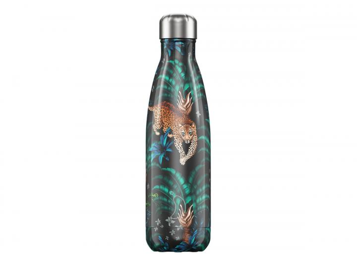 Chilly's Bottle 500ml tropical leopard edition