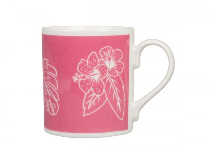 Eden Project tropical print mug