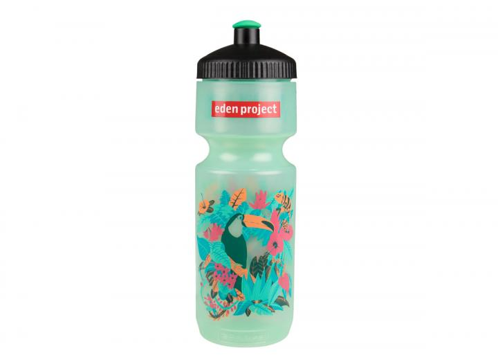 Tropical print sugar cane drinking bottle