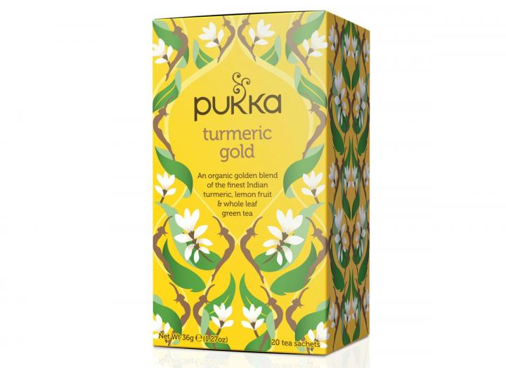 Pukka turmeric gold tea