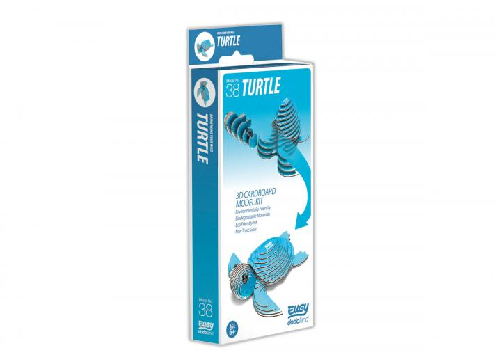 Eugy Turtle 3D model kit